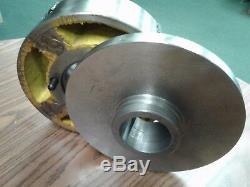 10 4-JAW LATHE CHUCK w. Independent jaws w. L00 semi-finished adapter #1004F0