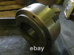 10 A8 Spindle Mount, 3-Jaw Lathe Chuck, MADE IN SWEDEN, Used, WARRANTY