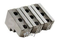 10 HARD JAWS for Kitagawa B-210 1.5mm x 60 CNC Lathe Chuck Steel 3pc Set R