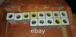 10 inch Atlas Lathe hand wheel collet closer and 13 German 3 AT collets new
