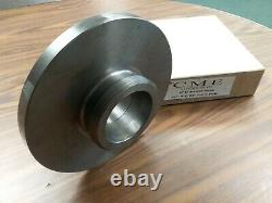 12 4-JAW LATHE CHUCK independent jaws & 10 L0 semi-finished adapter #1204F0