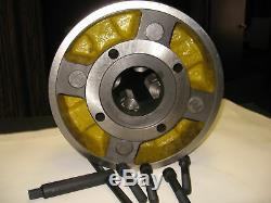 12 4-JAW LATHE CHUCK with independent jaws #1204F0, K72 300 NEW