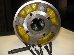 16 4-JAW LATHE CHUCK ndependent jaws & 10 D1-6, D6 Adapter semi-finished-NEW