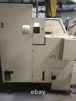 1997 OKUMA LNC-8C Cadet CNC Turning Center Lathe. Tailstock with Collet Chuck