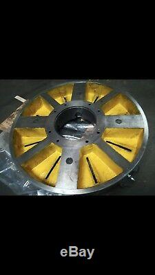 32 4-JAW LATHE CHUCK with independent jaws X-Large #K72-800- NEW