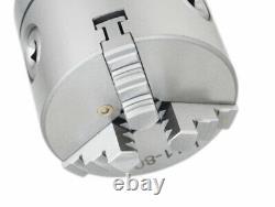 3/75mm 5C Precision Lathe Chuck, 3-Jaw Self-Centering Scroll, #0225-0233