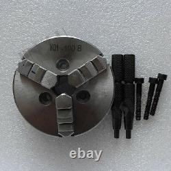 4 3 Jaw K01-100B 100mm Z-D 3XM6 Lathe Chuck Self Centering Reversable Jaws