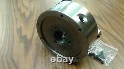 5 3-JAW SELF-CENTERING LATHE CHUCKS with extra jaws, part# 0503F0 NEW