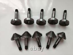 5 Set 8mm Ring Chuck Step Collets for 8mm Watchmaker Lathe
