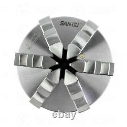 6Jaw 125mm Lathe Chuck 5 Self-Centering Step Jaws Metal Lathe Tool Accessory