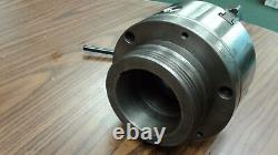 6 4-JAW SELF-CENTERING LATHE CHUCK w. Top & bottom jaws w. L0 adapter-new