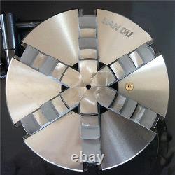 6 Jaw 10 Lathe Chuck 250mm Self-Centering Plain Back CNC Metalworking