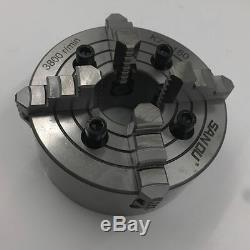 6 SANOU Independent Lathe Chuck 6 Inch 4-jaw 160MM 4-M10 for lathe Fixture CNC