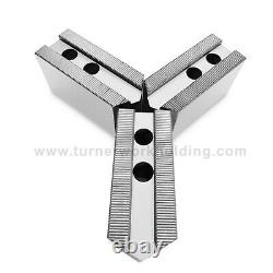 6 Sets- Soft Steel Pointed 2ht Jaws for 8 Kitagawa B208 Samchully Lathe Chucks