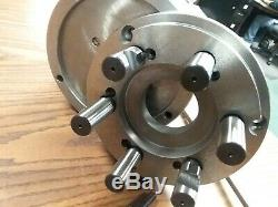 8 3-JAW SELF-CENTERING LATHE CHUCK D1-6 MOUNTING ADAPTER#0803D6-new