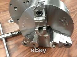 8 3-JAW SELF-CENTERING LATHE CHUCK D1-6 MOUNTING ADAPTER #0803D6-new