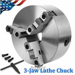 8 3 Jaw Lathe Chuck Self-Centering Milling Machine CNC Lathe Chuck K11-200