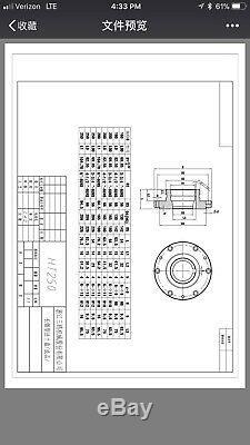8 4-JAW LATHE CHUCK w. Independent jaws w. L0 adapter semi-finish#0804F0-NEW