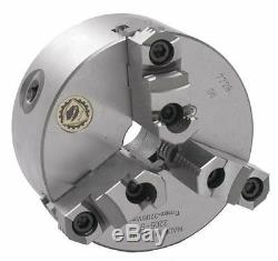 8 Bison 3 Jaw Lathe Chuck Direct Mount LOO Spindle