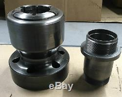ATS COLLET CHUCK CNC LATHE PULLBACK NOSEPIECE with A2-5 MOUNT A5-S15H