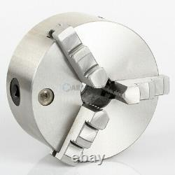 All Industrial 47766 5 3-Jaw Self-Centering Lathe Chuck Plain Back Hardened