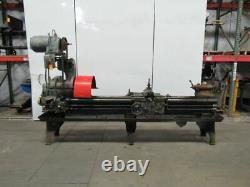 American tool Works Metal Working Lathe 16 Swing 76 Bed Capacity 220/440V 3 Ph