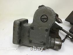 Antique Lathe Tooling Parts Unmarked Crossfeed Tool Holder Tail Stock CrossSlide