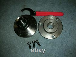 Atlas Craftsman 6 Inch Lathe Er 32 Collet Chuck+1-10 Backing Plate+wrench New