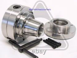 BOSTAR 5C Collet Lathe Chuck With 1-7/8 x 8 Thread Semi-finished Adapter