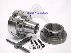 BOSTAR 5C Collet Lathe Chuck With Semi-finished L-00 Back Plate