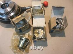 BURNERD MULTISIZE COLLET CHUCK & COLLETS LC10 for Boxford lathe