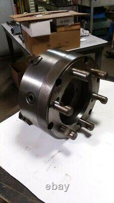 Bison 12 4 Jaw Lathe Chuck, Self Centering, D1-11 Mount