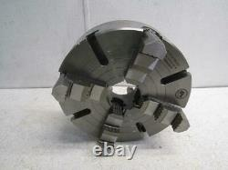 Bison 7-853-1236 12 1/2 4 Jaw Lathe Chuck Direct Mount D1-6 +Hard