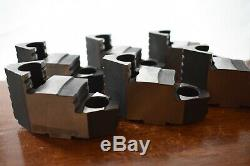 Bison Lathe Chuck Hard Top Jaw for 10'' 6 piece set