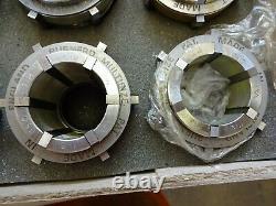 Burnerd Multibore EC collet set, look unused! Lathe, Colchester, Harrison
