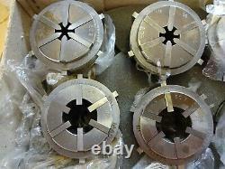 Burnerd Multibore EC collet set, mint condition! Lathe, Colchester, Harrison