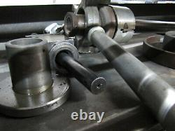 CLAUSING 1500 15 x 48 Manual Engine Lathe with 8 Chuck & 5C Collet Closer