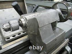 CLAUSING 15 x 48 Manual Engine Lathe model 1500 with 8 Chuck & 5C Collet Closer