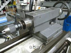 CLAUSING / COLCHESTER 13 x 50 Manual Lathe with 8 Chuck & 5C Collet Closer