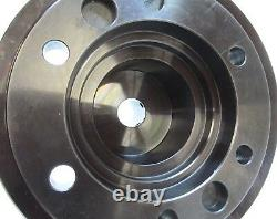 CLEAN! ATS 5C COLLET CHUCK CNC LATHE THREADED NOSEPIECE with A2-8 MOUNT #A8-5C