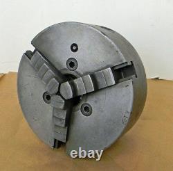 CUSHMAN 3-JAW 8 SCROLL LATHE CHUCK with D1-6 MOUNT