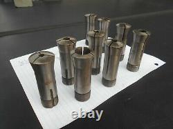 Collets 4C hardinge 4C collet lot. Lathe and or milling machine 4C, 8 collet lot