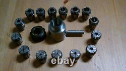Cowells ME90 Lathe ER25 Collet Chuck M14mm X 1mm