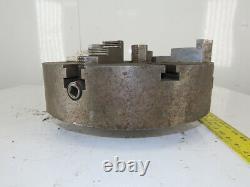 Cushman 214D6C 15 Manual 4 Independent Jaw Lathe Chuck Cam Lock 3-1/4 Thru