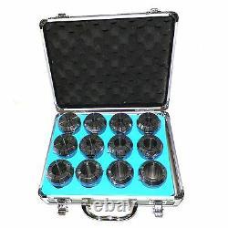 ER50 COLLETS SET 3/8 TO 1-5/16 (12 PCs) FOR MILLING LATHE ER 50 COLLETS