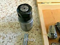 Emco 3 Lathe And Mill. Collet Holder And Collets
