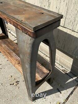 From Altas Lathe Legs Stand Cabinet Collet and Chuck holder Southbend Steampunk