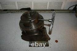 George Gorton Machine 204-1 Grinding Milling Fixture with 4 Skinner Lathe Chuck