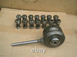 Grand Screw Machine collet metal Lathe Chuck 1 1/2 8 thread No. 21 collets