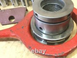 HALL CO Collet Chuck 1 1/2- 8 T. P. I Mount With Collets USA! Lathe Logan Atlas